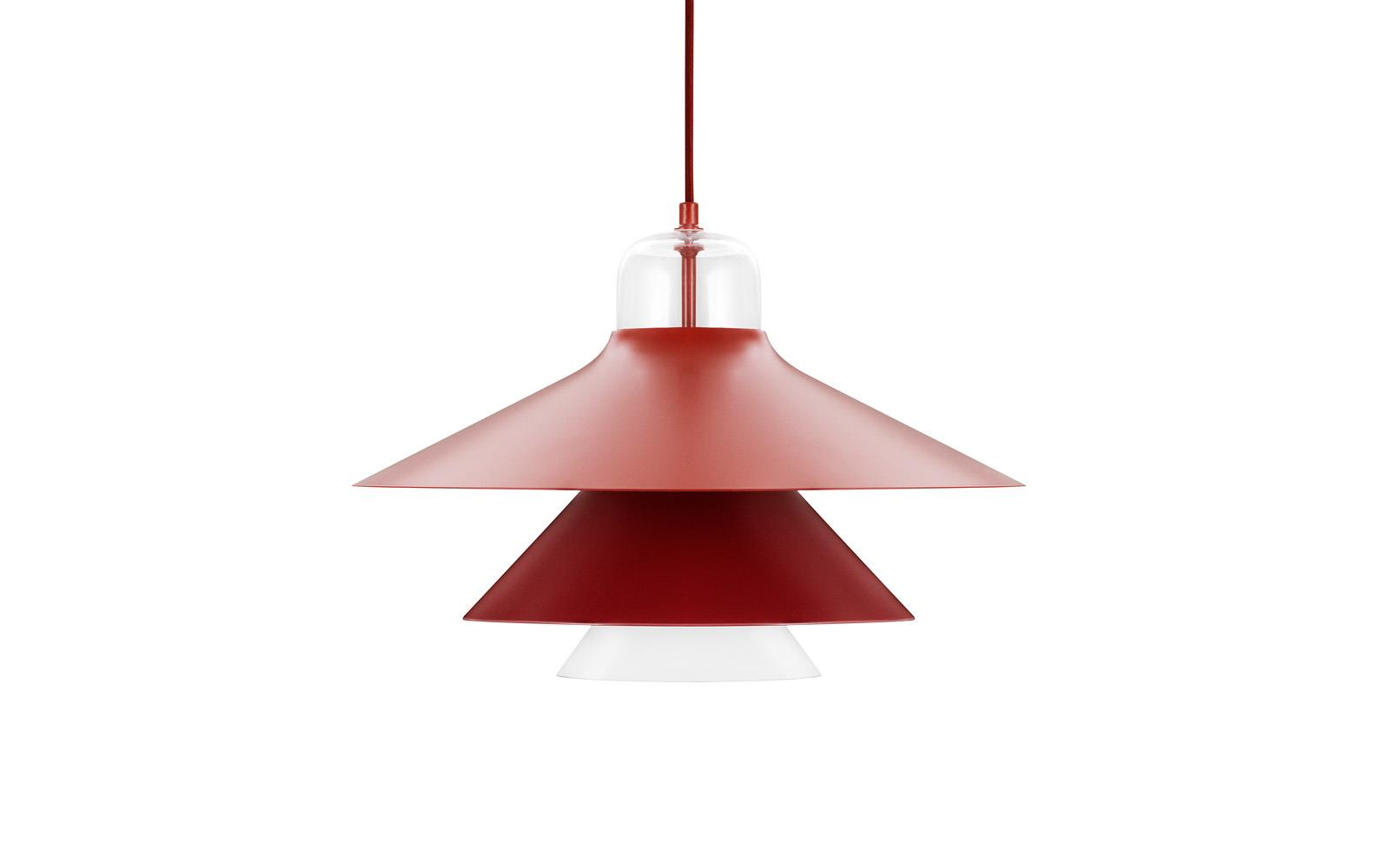 Ikono Lamp Large EU Red