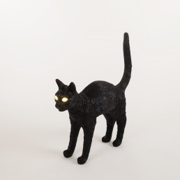 Lamp Seletti Jobby The Cat Black Interior Design