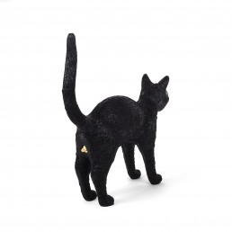 Lamp Seletti Jobby The Cat Black Racurs