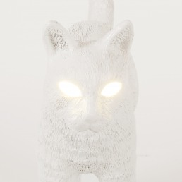 Lamp Seletti Jobby The Cat White Detail Face
