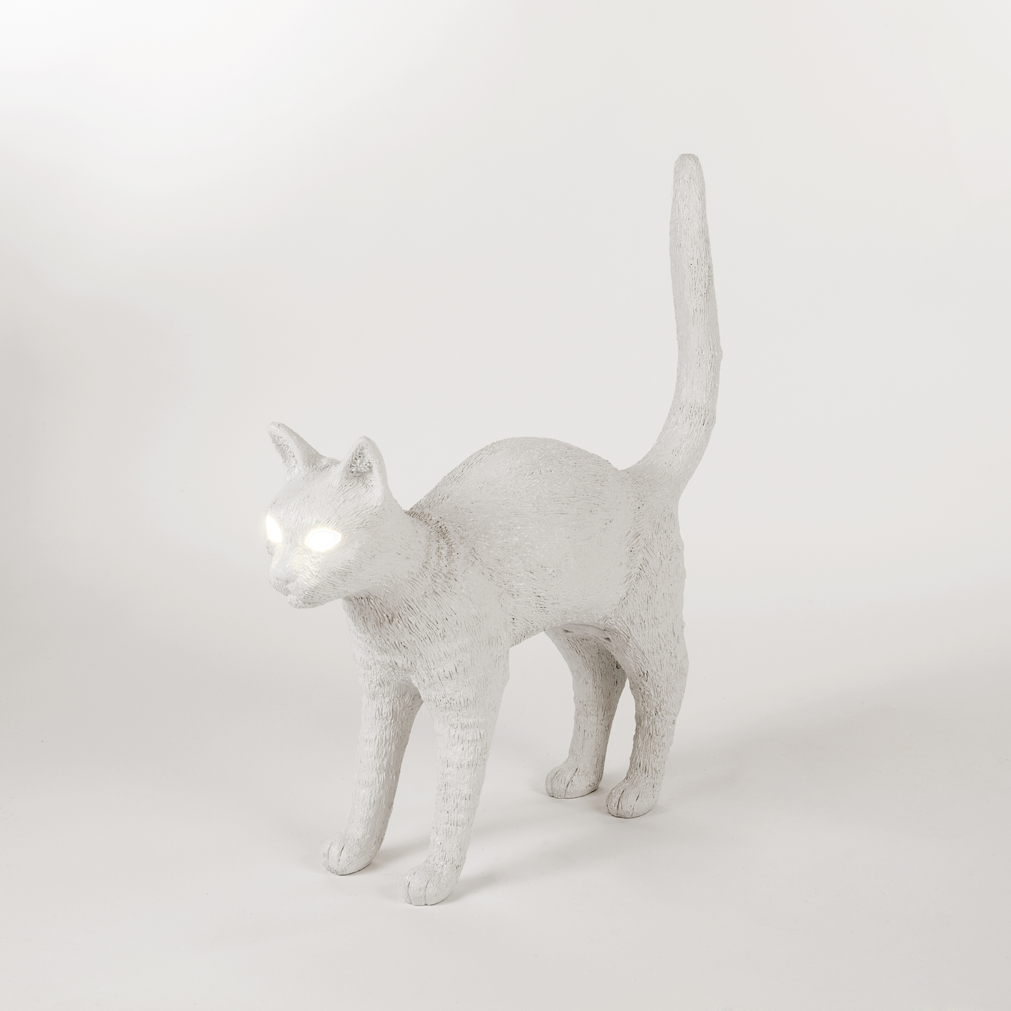 Lamp Seletti Jobby The Cat White Interior Design