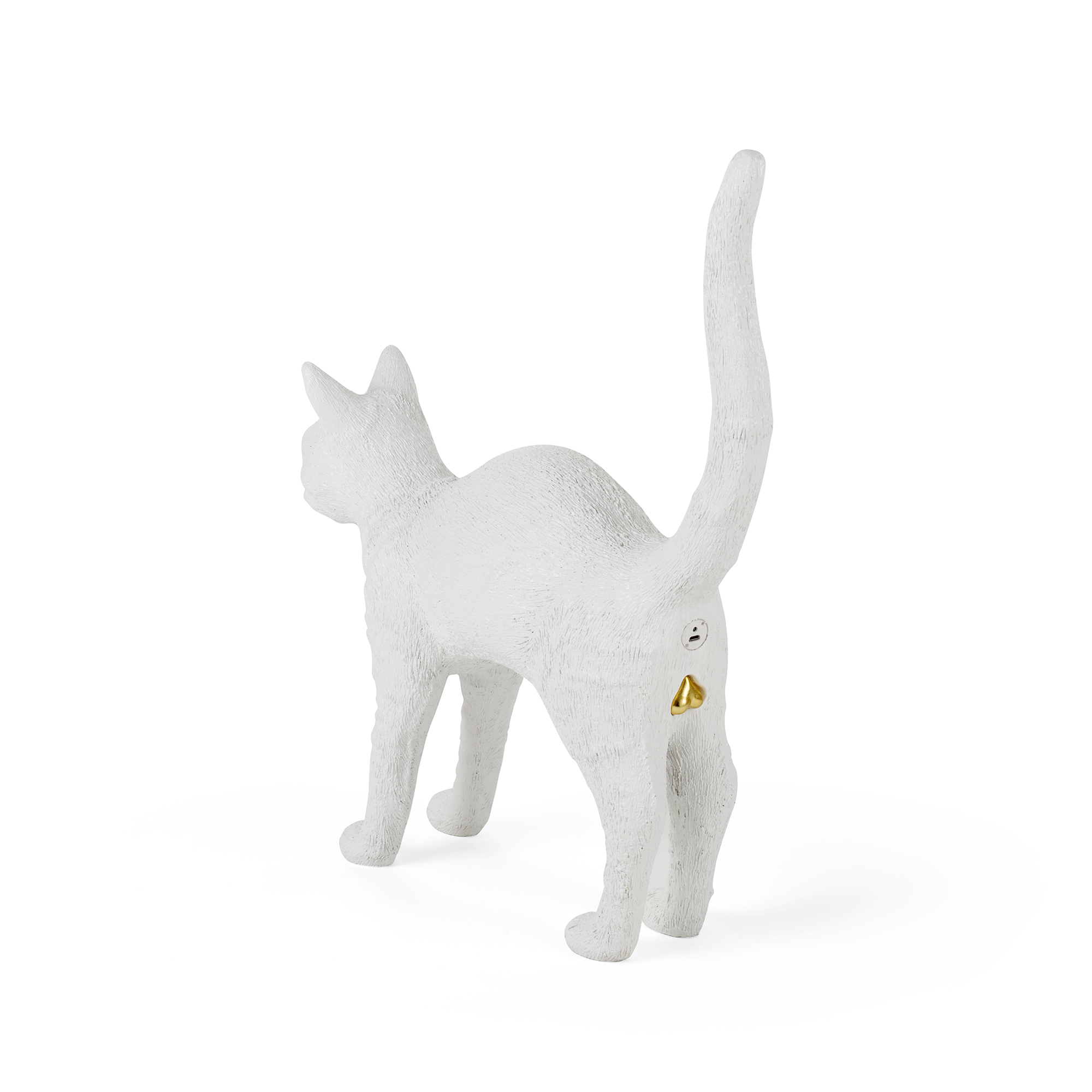 Lamp Seletti Jobby The Cat White Racurs 1