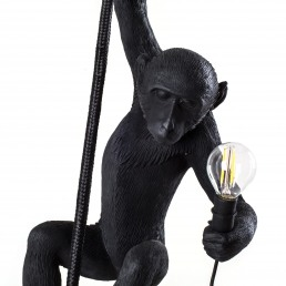 Lamp Seletti The Monkey Black Ceiling Version Detail