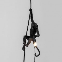 Lamp Seletti The Monkey Black Ceiling Version Interior