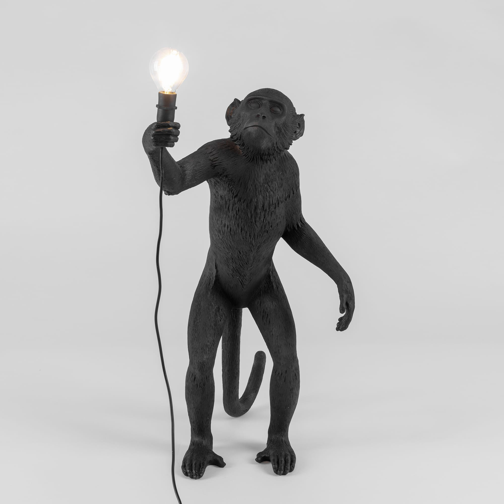 Lamp Seletti The Monkey Black Standing Version Interior Design