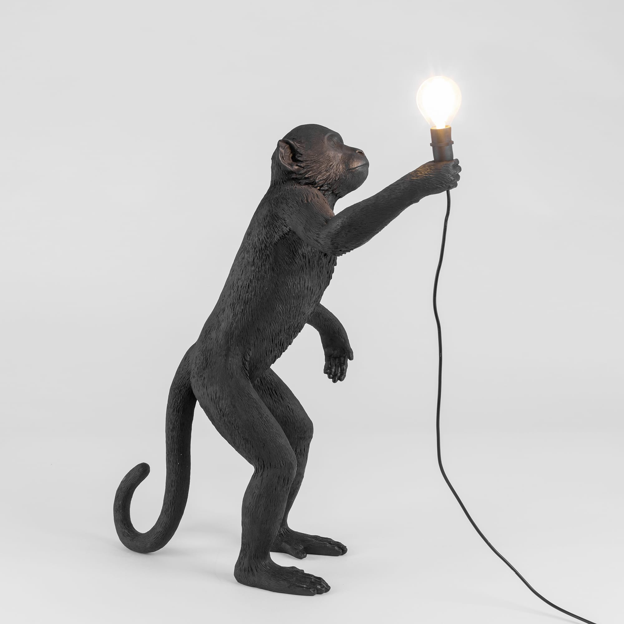Lamp Seletti The Monkey Black Standing Version Interior