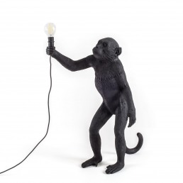 Lamp Seletti The Monkey Black Standing Version