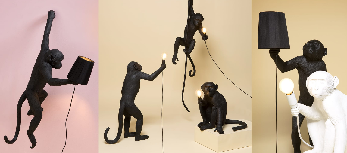 Lamp Seletti The Monkey