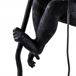 Lamp The Monkey Black Ceiling Version Detail Seletti