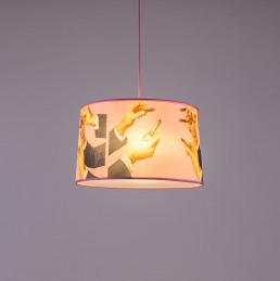 Lampshade Seletti Lipsticks Interior Design
