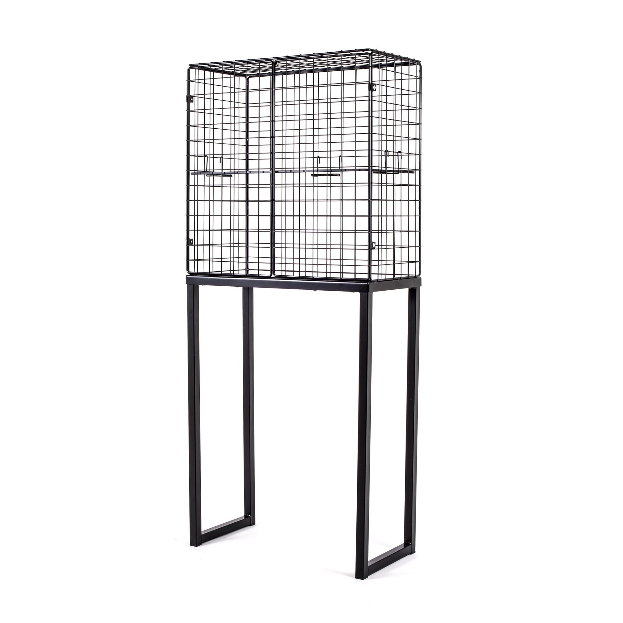 Large Cabinet Seletti Les Volieres Black Racurs