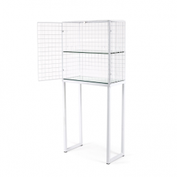 Large Cabinet Seletti Les Volieres White Open