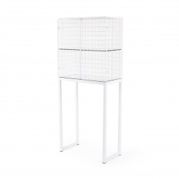 Large Cabinet Seletti Les Volieres White Racurs