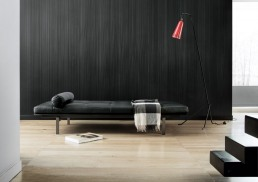 Lema Yard Daybed Black Leather