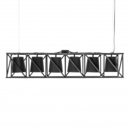 Line Lamp Seletti Multilamp Black