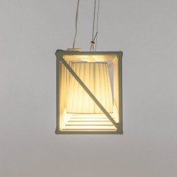 Line Lamp Seletti Multilamp White Detail Interior