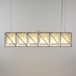 Line Lamp Seletti Multilamp White Interior
