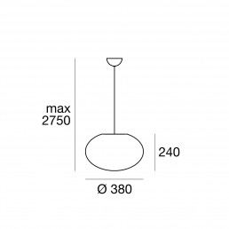 Linea Light Oh Smash Pendant Medium