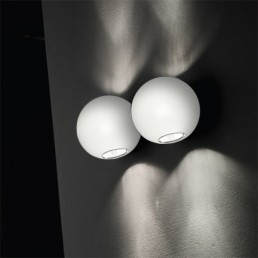 Linea Light Pelota Wall Dual Emission White Group