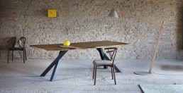Miniforms Gustave Table Wood Design
