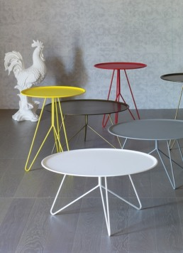 Miniforms Link Small Table Lacquered