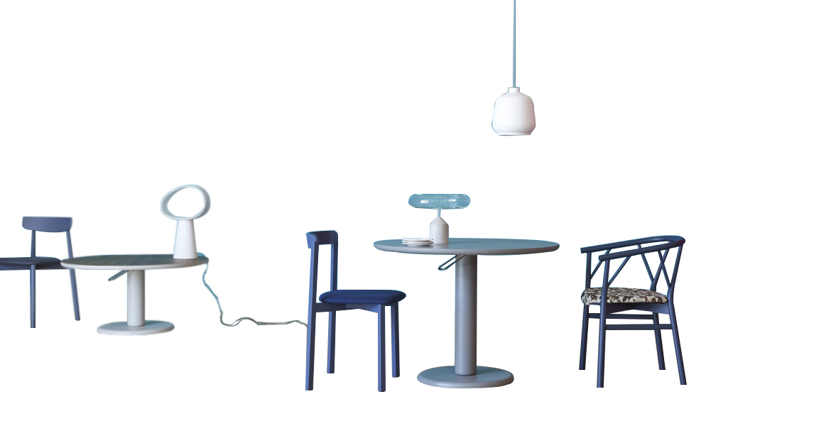 Miniforms Maciste Table Modern Contemporary Lacquered Dining Table