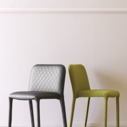 Miniforms Pele Chair fabric and ecoleather