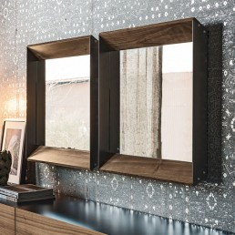 Mirror Excalibur Design Cattelan Italia