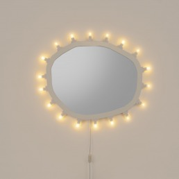 Mirror Seletti Luminaire Regular Design