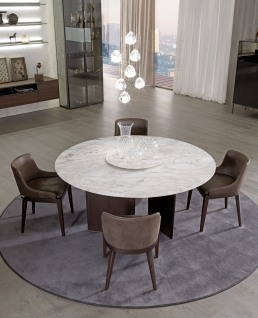 MisuraEmme Ala Table Round Marble