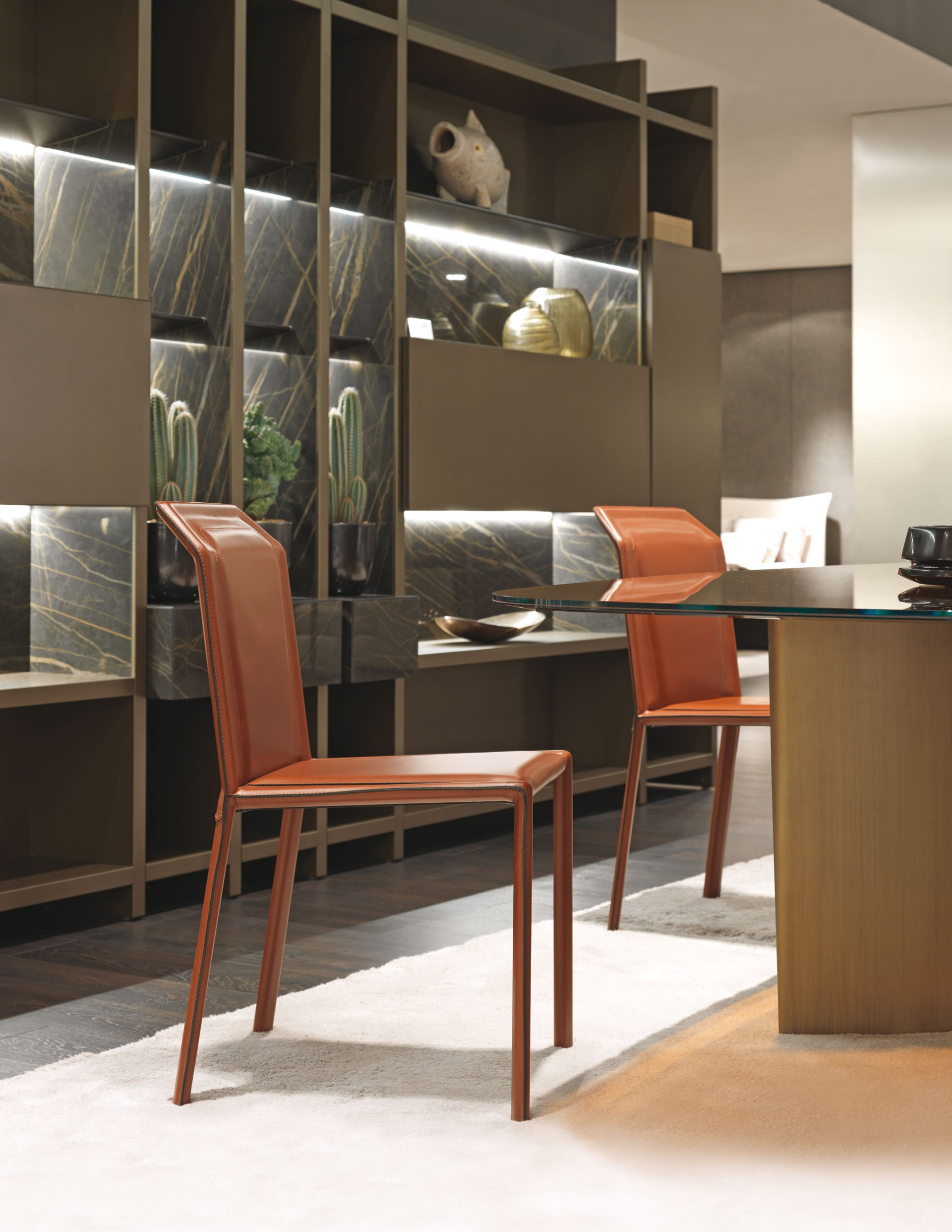 MisuraEmme Brera Chair Interior