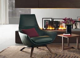 MisuraEmme Ermes Armchair leather