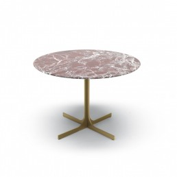 MisuraEmme Janus Small Table Round Marble