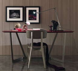 MisuraEmme Virgo Writing Desk Red