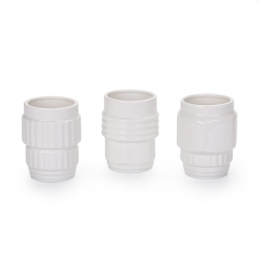 Mugs Set of Three Seletti Machine Collection