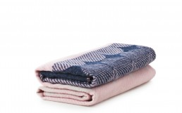 NC Ekko Throw Blanket NavyRose