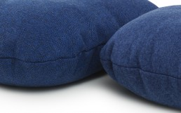 NC Hi Cushion Wool Flax Blue