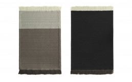 NC Trace Rug Grey Front Back