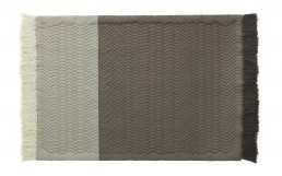 NC Trace Rug Grey Front