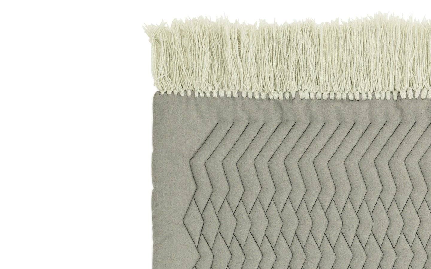 NC Trace Rug Grey Detail