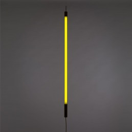 Neon Lamp Seletti Linea Yellow Interior