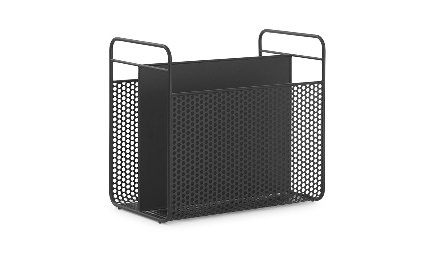Normann Copenhagen Analog Magazin Rack Black Racurs