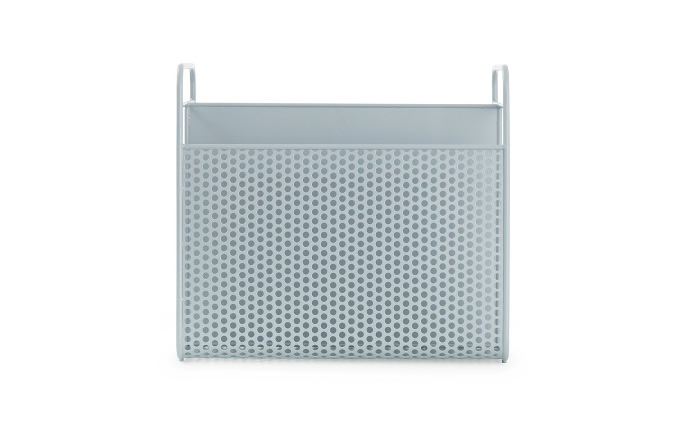 Normann Copenhagen Analog Magazin Rack BlueGrey Racurs
