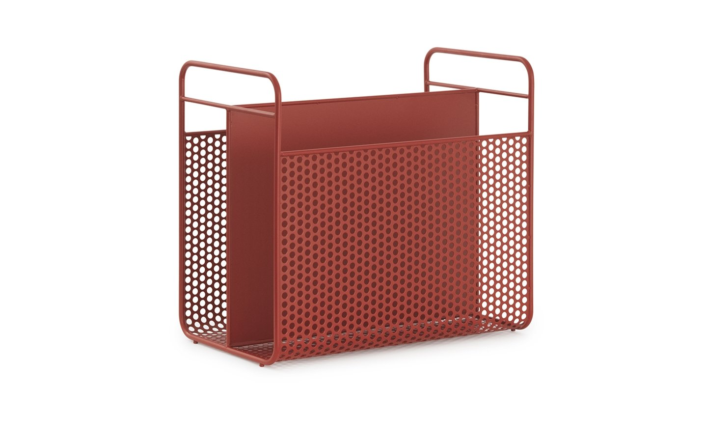 Normann Copenhagen Analog Magazin Rack Red Racurs