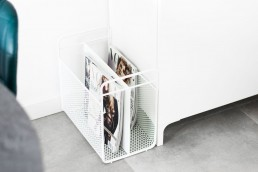 Normann Copenhagen Analog Magazin Rack White Modern Design