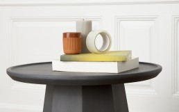 Normann Copenhagen Pine Table Large Dark Grey