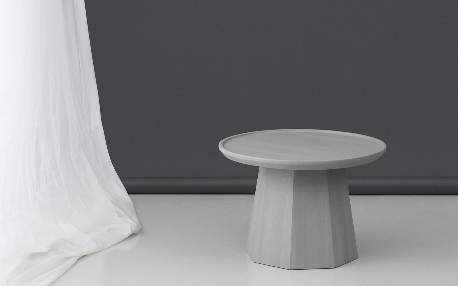 Normann Copenhagen Pine Table Large Light Grey