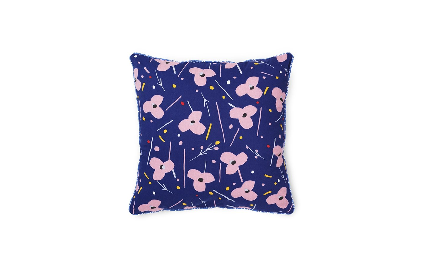 Normann Copenhagen Posh Cushion Le Grand Fleur Ink Blue