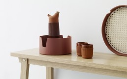 Normann Copenhagen Salon Tray Group Rust