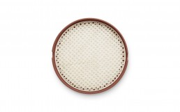 Normann Copenhagen Salon Tray Medium Rust Top